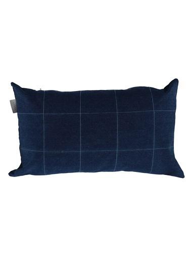 Sade'ce Dekoratif Yastık Mavi
